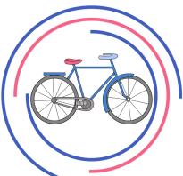 Рисуем велосипед поэтапно с детьми. Как нарисовать велосипед карандашом поэтапно