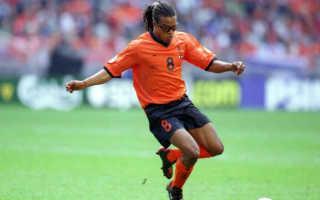 Футболист голландии в очках. Эдгар Давидс. Биография