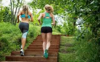 Полезно ли спускаться пешком по лестнице. Характер работы шагового тренажера. Какие мышцы задействованы при подъеме