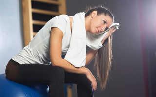 Потеть во время тренировки хорошо или плохо. Причины сильного потоотделения на тренировках