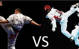 Что лучше для детей карате или тхэквондо. Сравнение с боксом. Каратэ и тхэквондо — что лучше