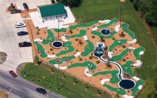 Собственный мини-гольф клуб как бизнес. Замечательный мини гольф своими руками