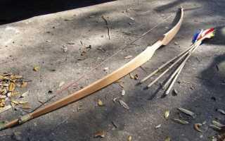 Чертеж составной лук рукоять. Самодельный разборный лук из лыж