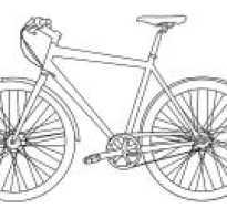 Рисунки про детей которые катаются на велике. Как нарисовать велосипед шаг за шагом