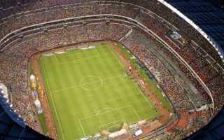 Самый вместительный стадион в мире по футболу. Самые большие стадионы Европы (20 фото)