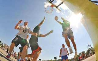 Сколько игроков одной команды играют в стритбол. Правила игры стритбол. Как правильно играть в уличный баскетбол