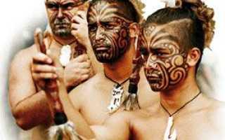 Маори. Племя из Новой Зеландии. Маори — людоеды