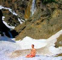 Практика тумо тибетских монахов. Туммо — разжигание внутреннего огня. А что характерно для обычного дыхания
