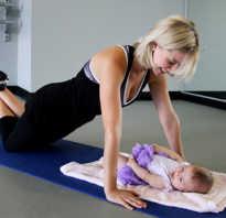 Какие упражнения можно делать сразу после родов. Комплекс упражнений после родов в домашних условиях. Когда можно приступать к занятиям