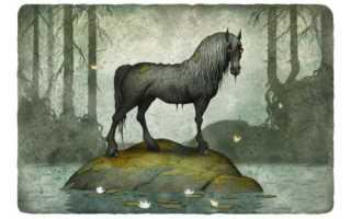 Конь с головой человека. Лошади древнегреческой мифологии. Мифологическая энциклопедия: Животные в мифологии: Конь, лошадь