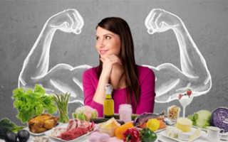 Меню чтобы набрать вес женщине. Диета для набора мышечной массы