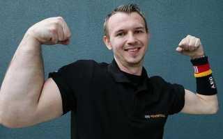 Маттиас Шлитте — армрестлер c рукой как у Хеллбоя. Размер – не главное