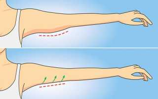 Упражнения при дряблости мышц рук. Причины дряблости мышц и как предотвратить дряблость. Упражнения для борьбы с вялостью мышц