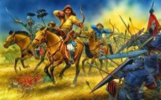 Оружие и военные технологии монголов. Монгольский лук: передовое оружие монголов