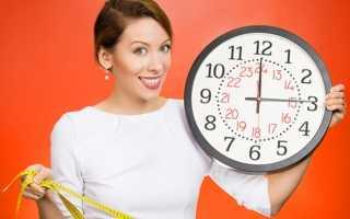 Почасовая диета для похудения отзывы. Правила питания на хронодиете. Правильный режим дня
