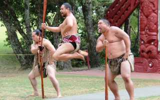 Танец новозеландских маори. Хака – танец войны