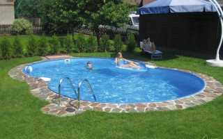 Что нужно знать о бассейнах для дачи. Как установить наземный бассейн. Какие бывают типы бассейнов