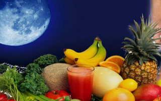 Питание по луне на каждый. Питание по лунному календарю. «Лунная десятка» Аниты Цой