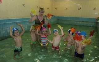 Основные разделы обучения плаванию дошкольников. Методика обучения плаванию детей дошкольного возраста