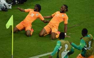 Футболист кот дивуар 4 буквы. Награды и достижения. Сборная Кот д'Ивуара на чемпионатах мира