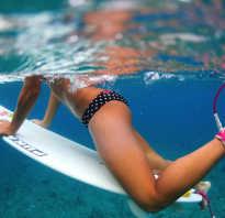 По воде на доске за тросом. Виды серфинга: активный отдых на воде