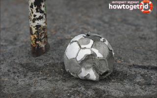 Надуть футбольный мяч без иглы. Как накачать резиновый мяч