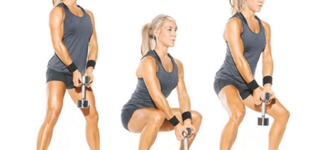 Самые эффективные упражнения с утяжелителями для ягодиц, бедер и ног. Упражнения с утяжелителями для стройной фигуры