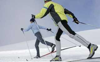 Катание на лыжах классикой. Лыжи. Осваиваем классический стиль