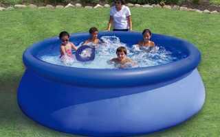 Чем заклеить надувной бассейн в домашних. Как заклеить каркасный бассейн Bestway