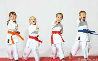 Нужно ли девочкам карате? Каратэ для детей: со скольки лет и какая польза