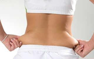 Упражнения для похудения боков на пояснице. Как быстро похудеть в области спины. Правила выполнения упражнений для похудения спины