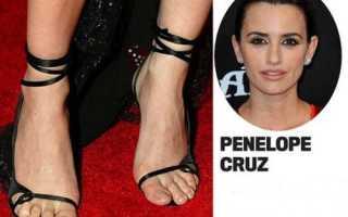 Страшные ноги. Самые красивые ноги знаменитостей