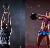 Упражнения с гирей на плечи, грудь и руки – базовый курс. Как накачаться с помощью гирь: основные упражнения