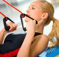 Упражнения с резиновым амортизатором (жгутом). Силовые упражнения с резиновым амортизатором и эспандером