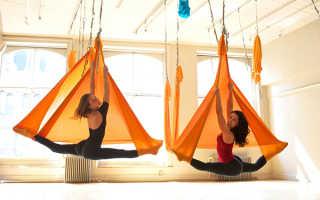 Упражнения на веревках йога. Под потолком: Что такое «воздушная йога» и как она работает. Мой отзыв о занятии йогой в гамаках