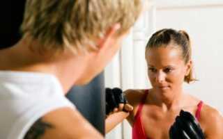 Рукопашный бой для женщин