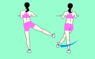 Упражнения махи ногами стоя польза. Махать ногами под силу каждому